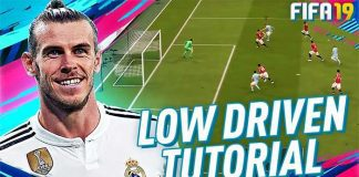 Finishing Tutorial - Low Driven Shot in FIFA 19