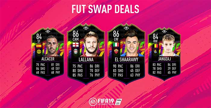 FIFA 19 Swap Deals Cards Guide