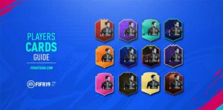 FIFA 19 Players Cards Guide