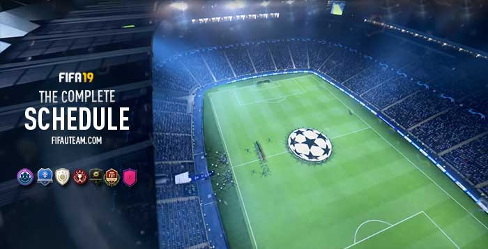 Calendrier Fifa 2019.Fifa 19 Schedule All The Dates For Fifa 19 Ultimate Team