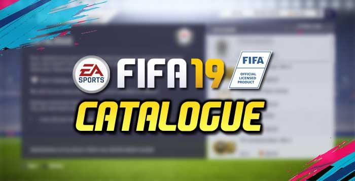 FIFA 19 EAS FC Catalogue Guide