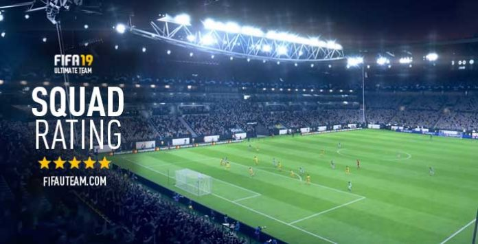 FIFA 19 Squad Rating Guide – Team Rating Overall
