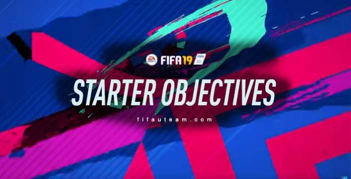 FIFA 19 Starter Objectives Guide - List, Rewards and Instructions