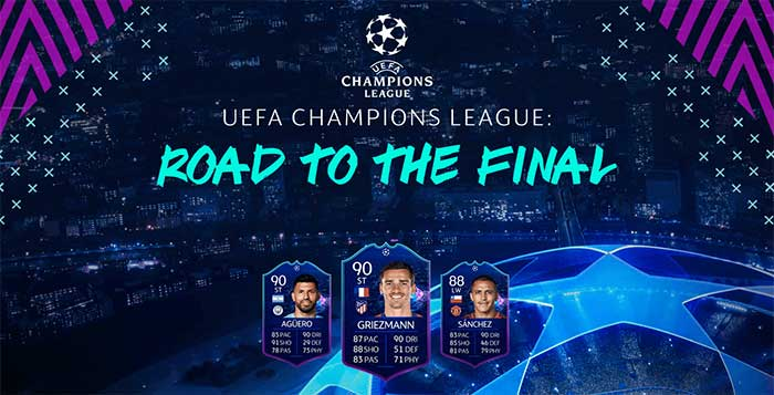 Fifa 19 Ucl Live Items Uefa Champions League Road To The Final