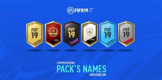 Comprehending FIFA 19 Pack Names