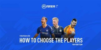How to Choose the Players for your Team on FIFA 19 Ultimate Team