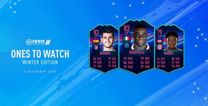 FIFA 19 Ones to Watch Winter Edition Guide