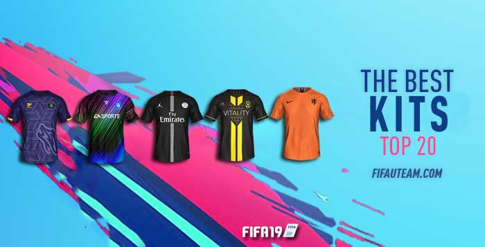 59108c613 FIFA 19 Kits – The Best Kits for FIFA 19 Ultimate Team