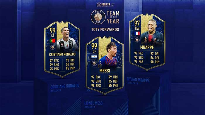 FIFA 19 Team of the Year - The Best Players of 2018