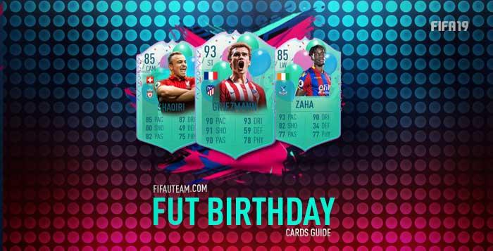 12a61df2b FIFA 19 FUT Birthday Cards Guide