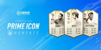 FIFA 19 Prime ICON Moments Guide