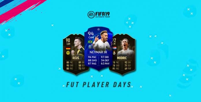 FUT Player Days Event for FIFA 19 Ultimate Team