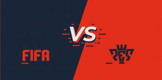 FIFA vs Pro Evolution Soccer