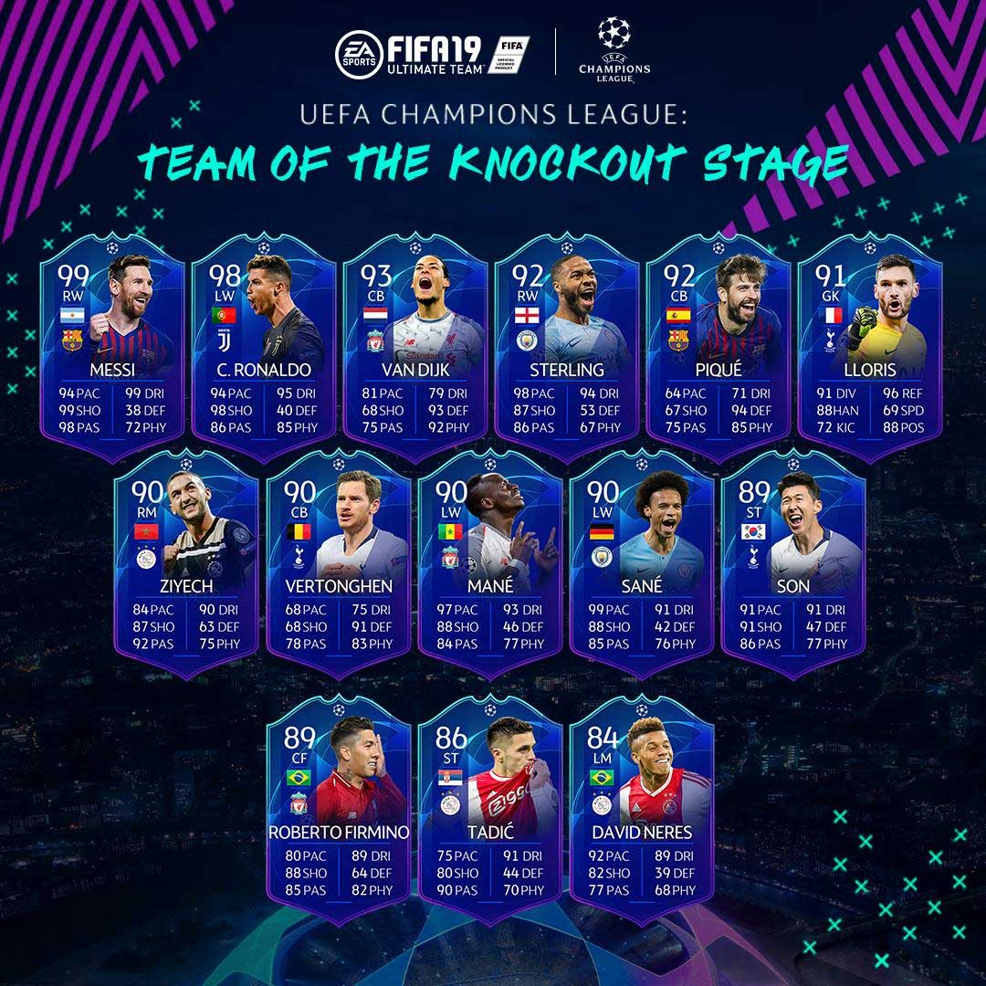 Team of the Knockout Stage de FIFA 19