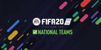 New FIFA 20 National Teams - Vote for Your Favourites