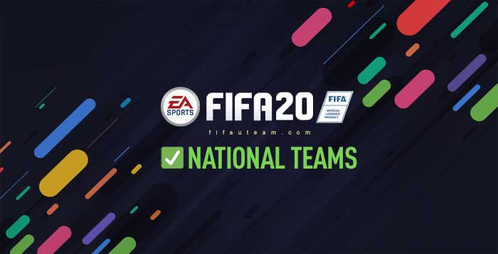 New FIFA 20 National Teams - Vote for Your Favourite