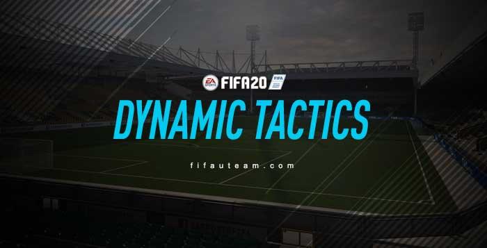 FIFA 20 Dynamic Tactics