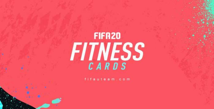 FIFA 20 Fitness Cards