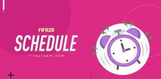 FIFA 20 Schedule