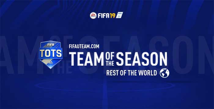 FIFA 19 ROTW Team of the Season