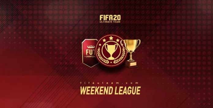 FIFA 20 Weekend League Calendar