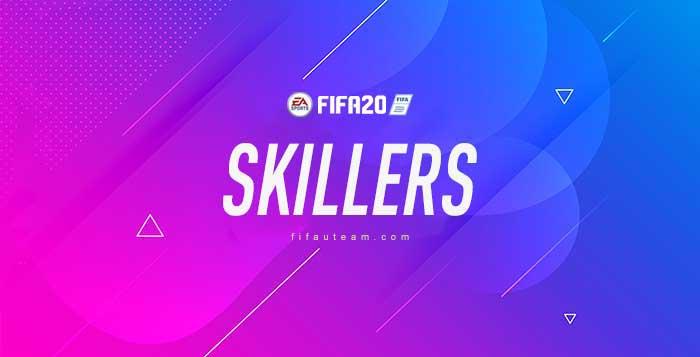 The Best FIFA 20 Skillers - 5 Star Skill Players List