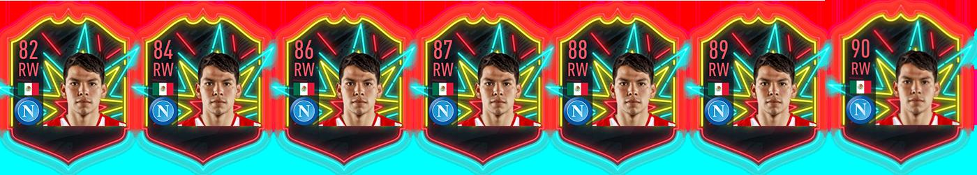 FIFA 20 Lozano OTW Item