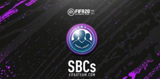 FIFA 20 Squad Building Challenges