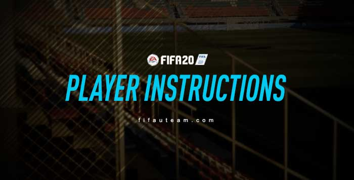 FIFA 20 Player Instructions