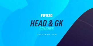 FIFA 20 Head Coaches and Goalkeeper Coaches