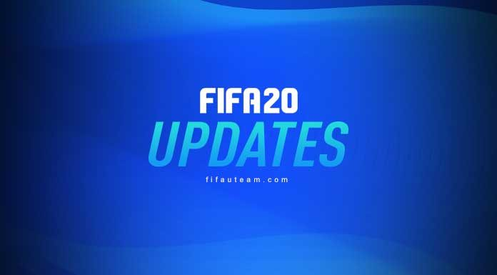 FIFA 20 Update History