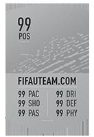 FIFA 20 Common Silver Item