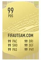 FIFA 20 Rare Gold Item