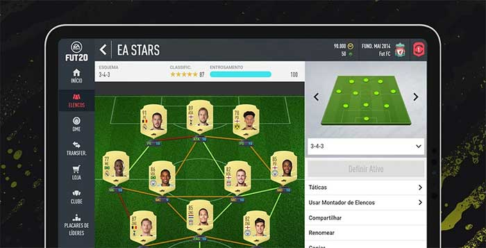 Companion App para FIFA 20 Ultimate Team