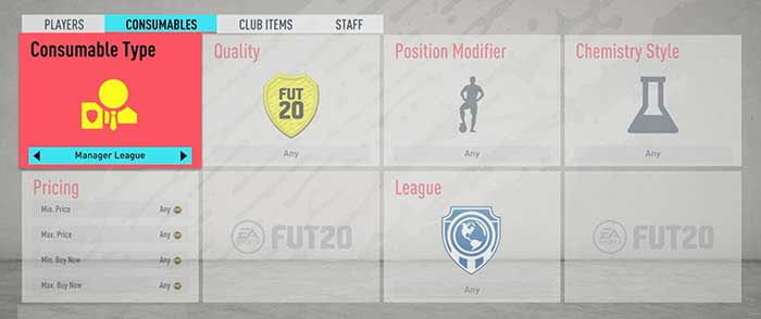 FIFA 20 Consumables Cards Guide for FIFA 20 Ultimate Team