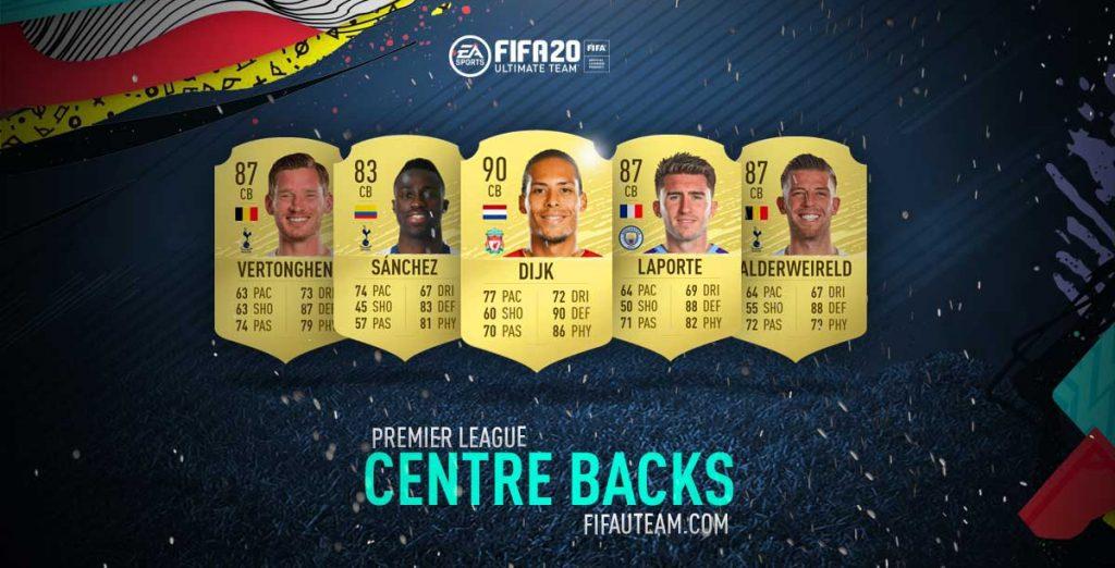FIFA 20 Premier League Centre Backs