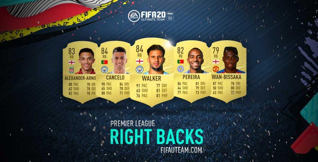 FIFA 20 Right Backs