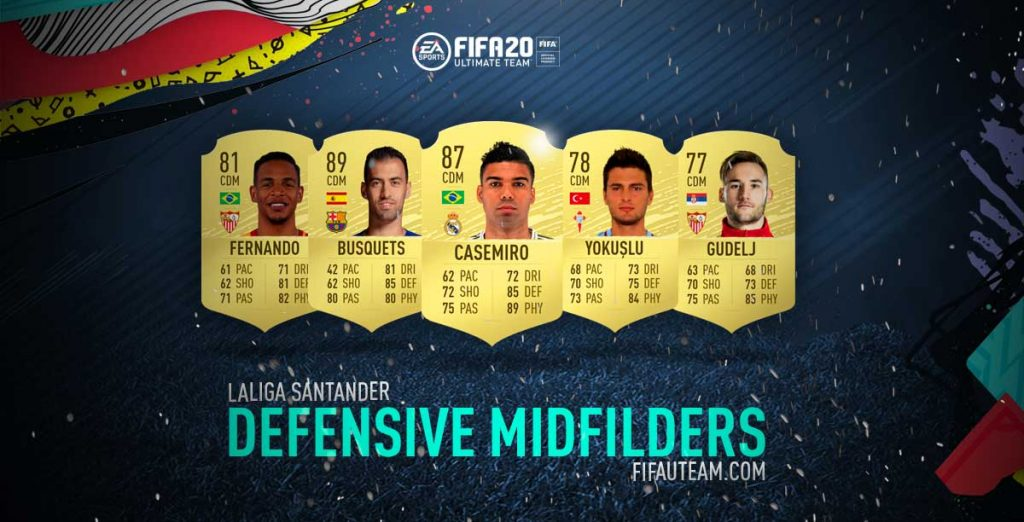 FIFA 20 Premier League Central Defensive Midfielders