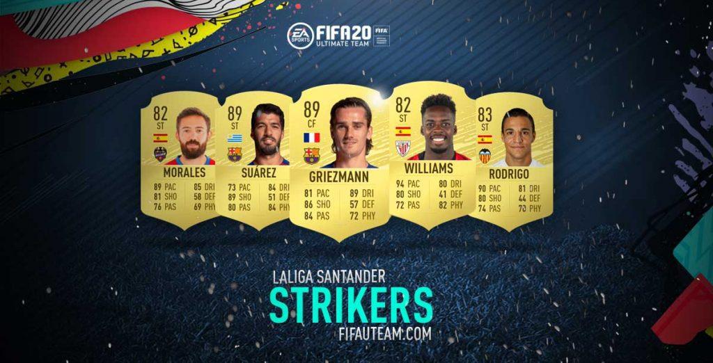 FIFA 20 Premier League Strikers