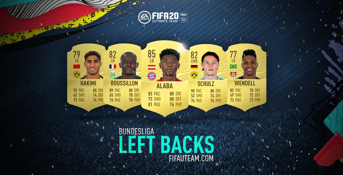 FIFA 20 Bundesliga Defenders Guide