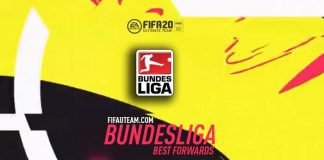 FIFA 20 Bundesliga Forwards