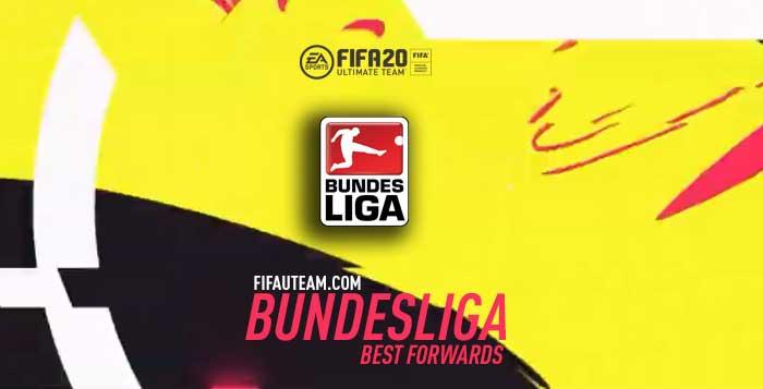 FIFA 20 Bundesliga Forwards