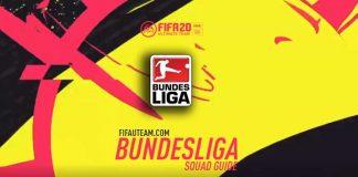 FIFA 20 Bundesliga Squad Guide