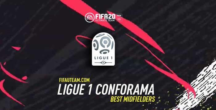 FIFA 20 Ligue 1 Midfielders