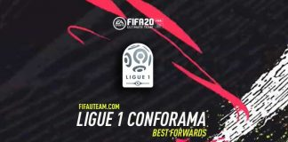 FIFA 20 Ligue 1 Forwards