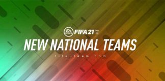 New FIFA 21 National Teams