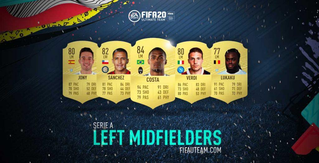 FIFA 20 Serie A Left Midfielder