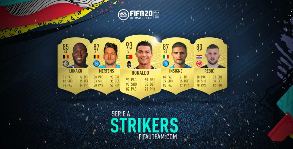 FIFA 20 Serie A Strikers