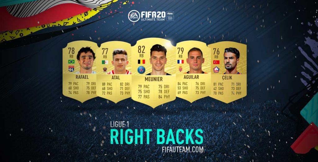 FIFA 20 Ligue 1 Right Backs