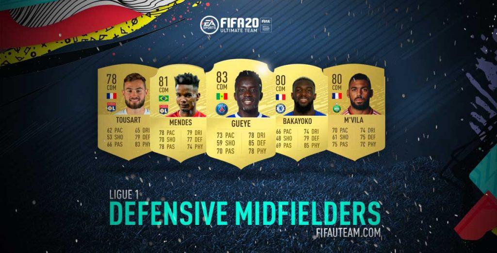 FIFA 20 Ligue 1 Defensive Midfielders